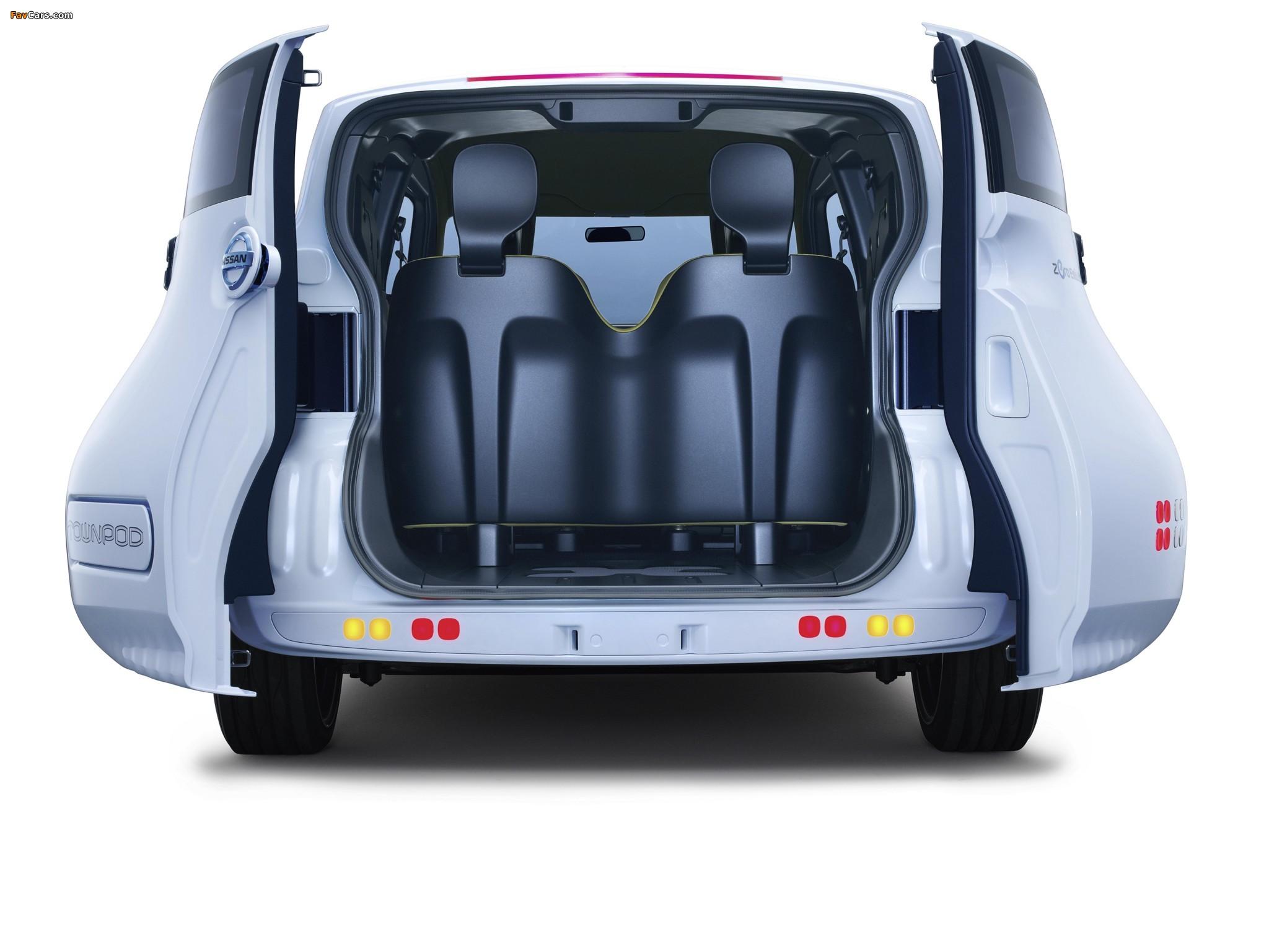 Nissan Townpod Concept 2010 pictures (2048 x 1536)