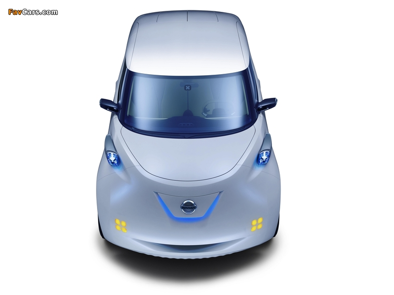 Nissan Townpod Concept 2010 pictures (800 x 600)