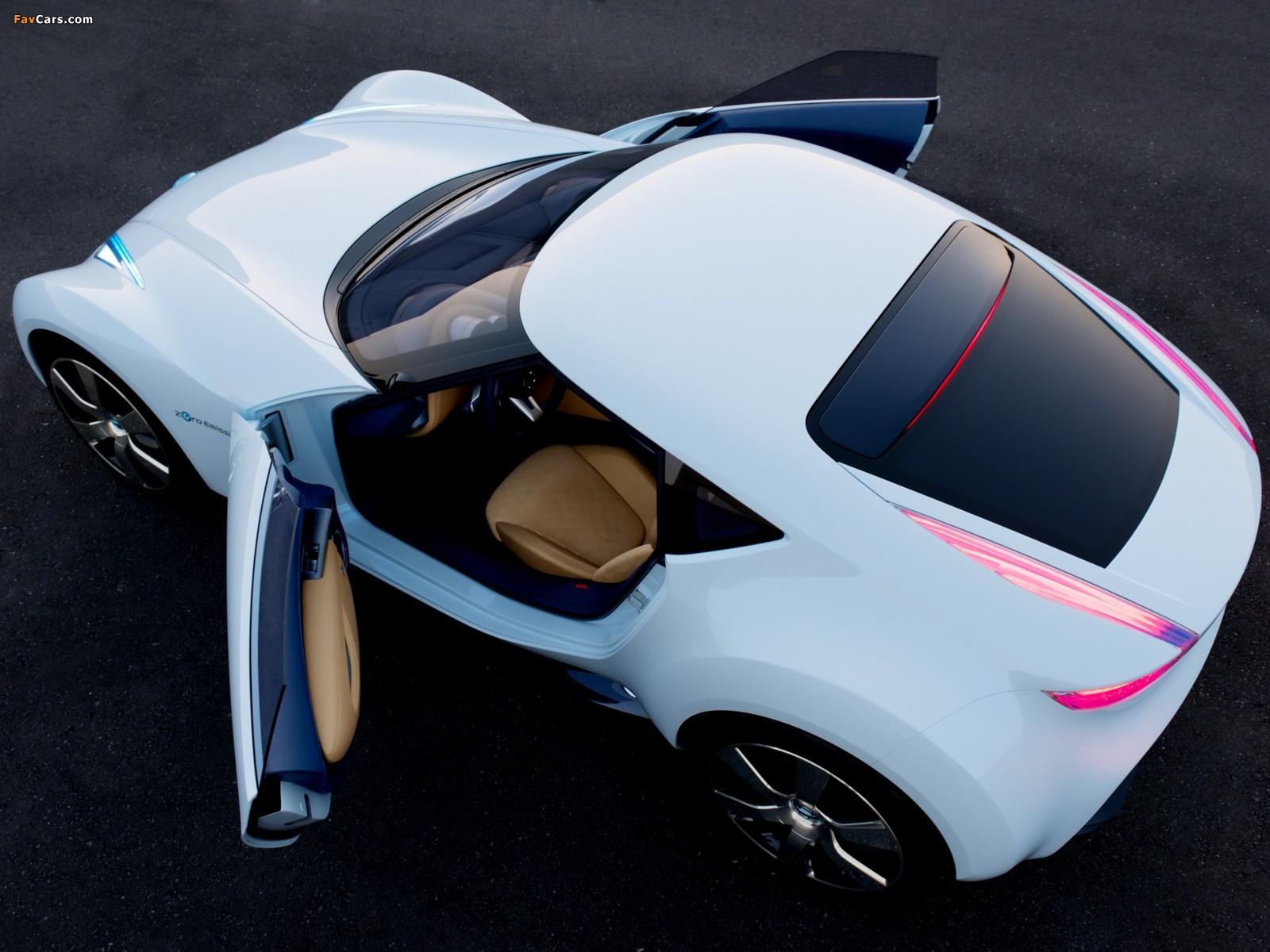 Nissan Esflow Concept 2011 photos (1600 x 1200)
