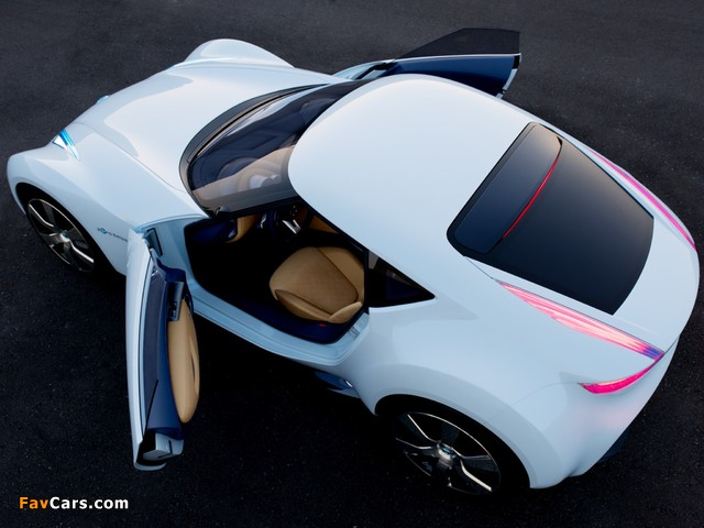 Nissan Esflow Concept 2011 photos (640 x 480)