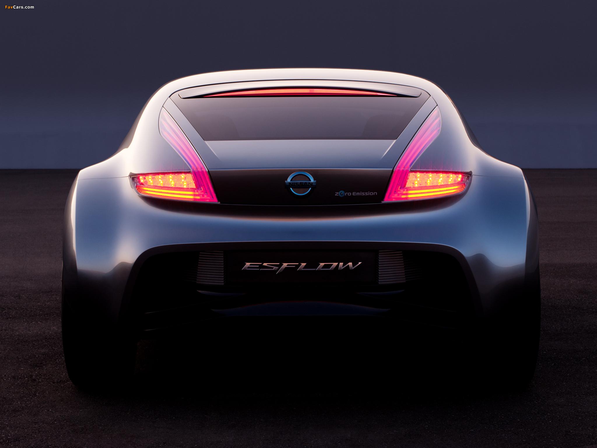 Nissan Esflow Concept 2011 pictures (2048 x 1536)