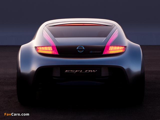 Nissan Esflow Concept 2011 pictures (640 x 480)