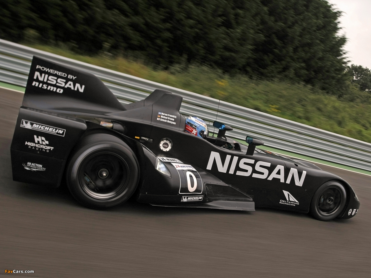 Nissan DeltaWing Experimental Race Car 2012 pictures (1280 x 960)