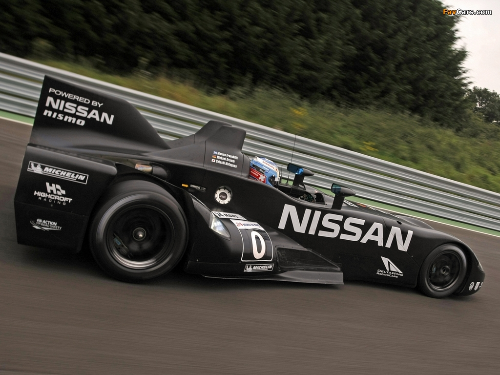 Nissan DeltaWing Experimental Race Car 2012 pictures (1024 x 768)