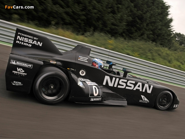 Nissan DeltaWing Experimental Race Car 2012 pictures (640 x 480)