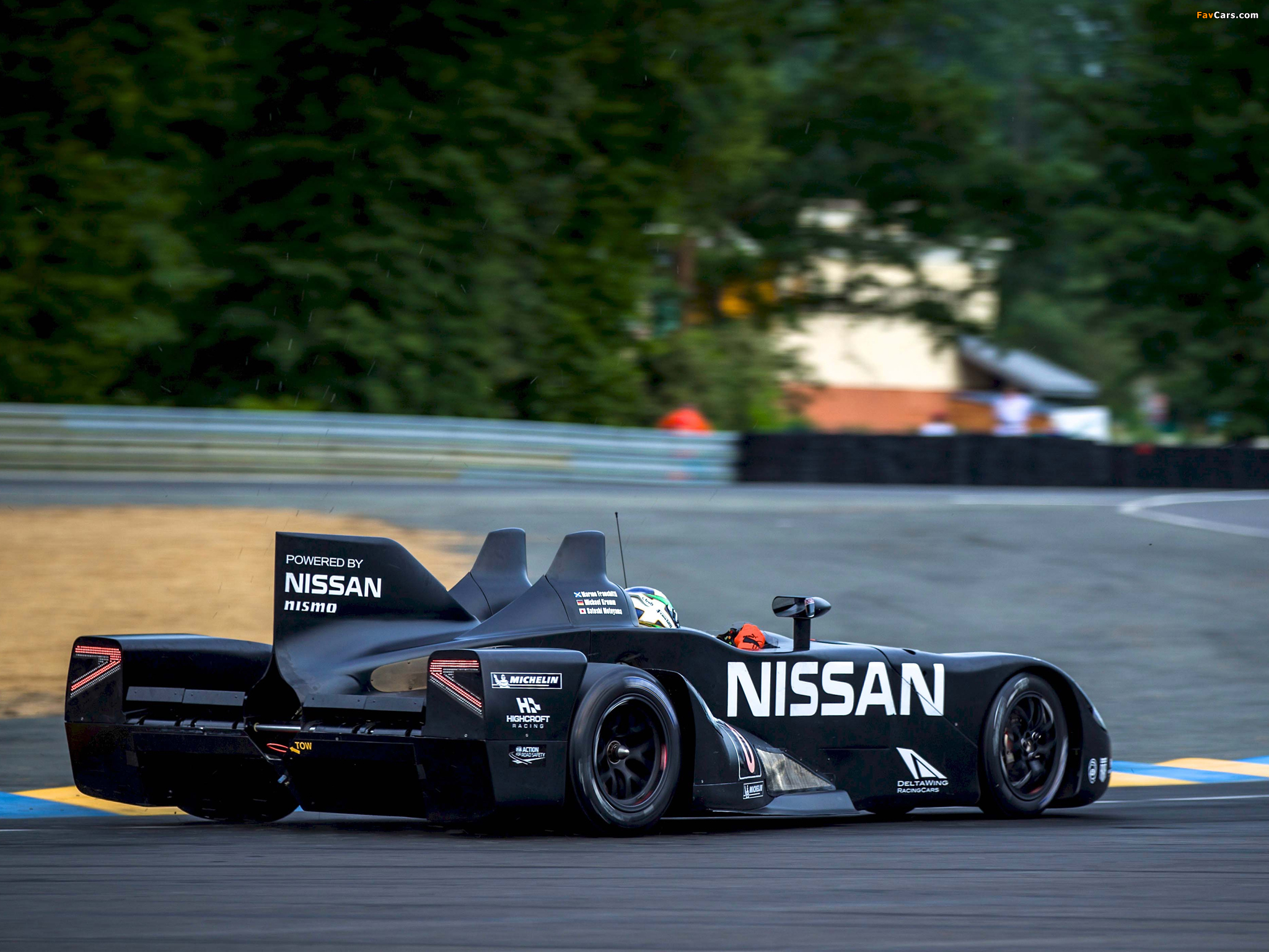 Nissan DeltaWing Experimental Race Car 2012 wallpapers (2048 x 1536)