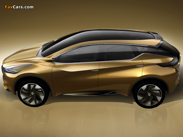 Nissan Resonance Concept 2013 photos (640 x 480)