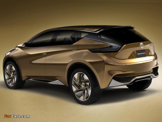 Nissan Resonance Concept 2013 wallpapers (640 x 480)