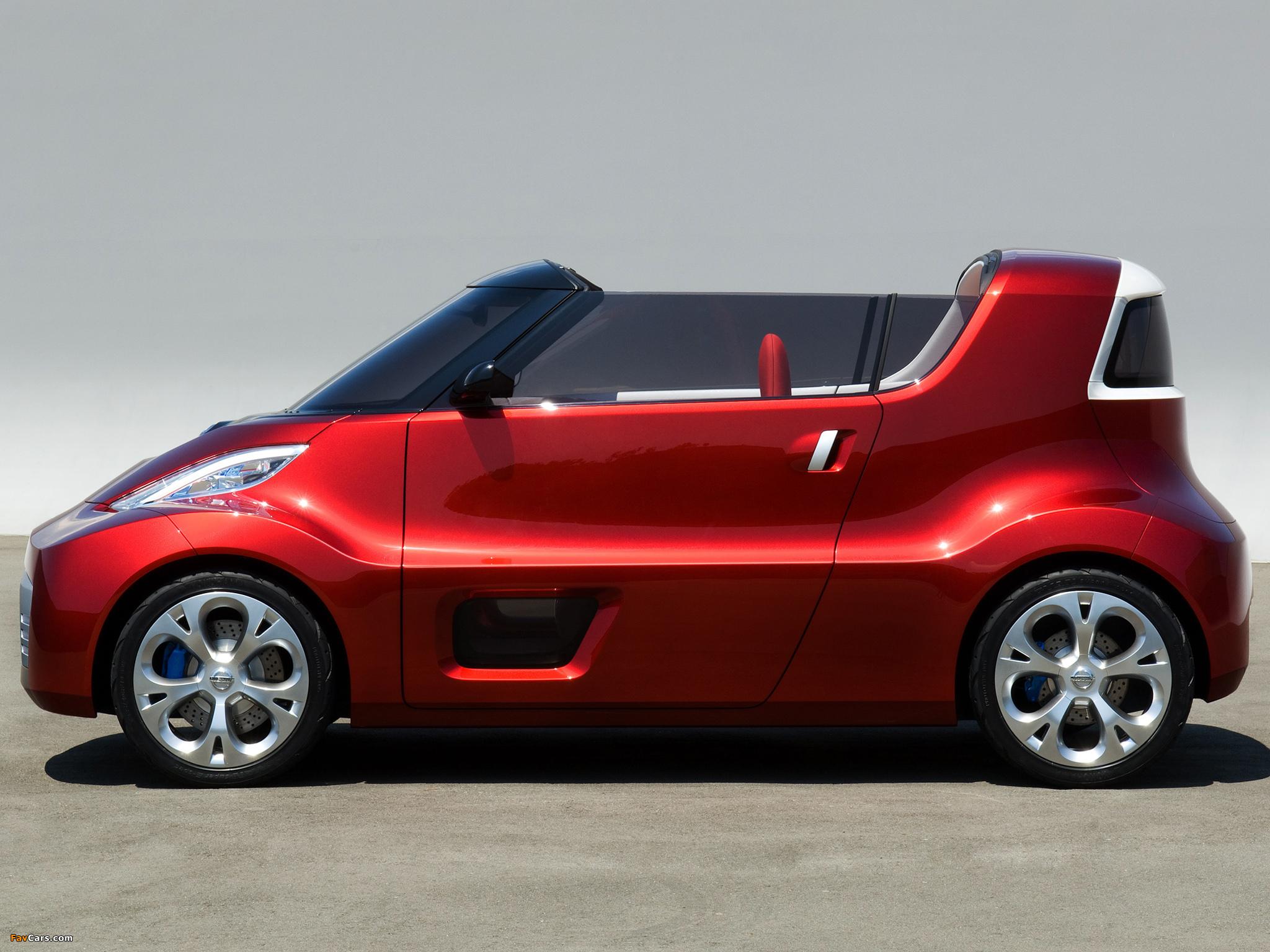 Photos of Nissan Round Box Concept 2007 (2048 x 1536)