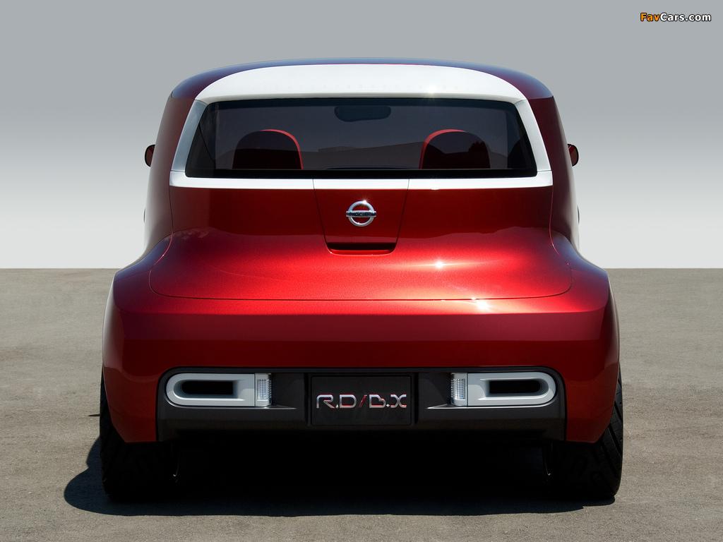 Photos of Nissan Round Box Concept 2007 (1024 x 768)