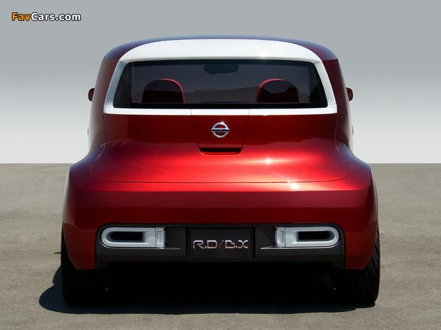Photos of Nissan Round Box Concept 2007 (640 x 480)