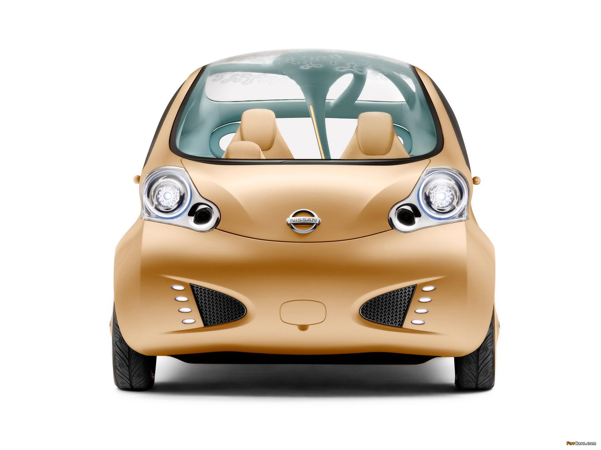 Photos of Nissan Nuvu Concept 2008 (2048 x 1536)