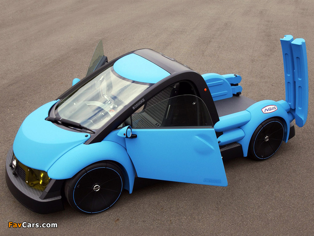 Pictures of Nissan Nails Concept 2001 (640 x 480)