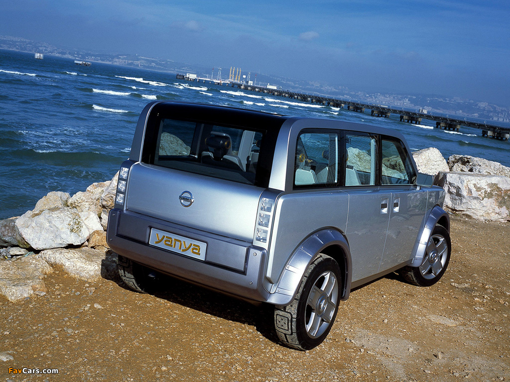 Pictures of Nissan Yanya Concept 2002 (1024 x 768)