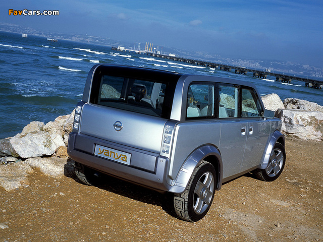 Pictures of Nissan Yanya Concept 2002 (640 x 480)