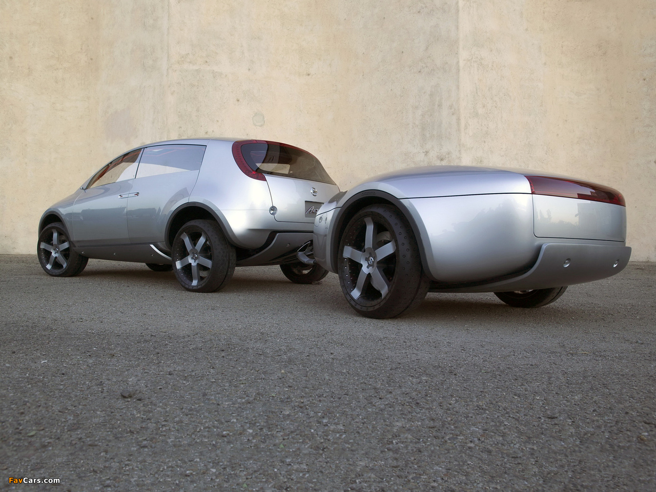 Pictures of Nissan Actic Concept 2004 (1280 x 960)