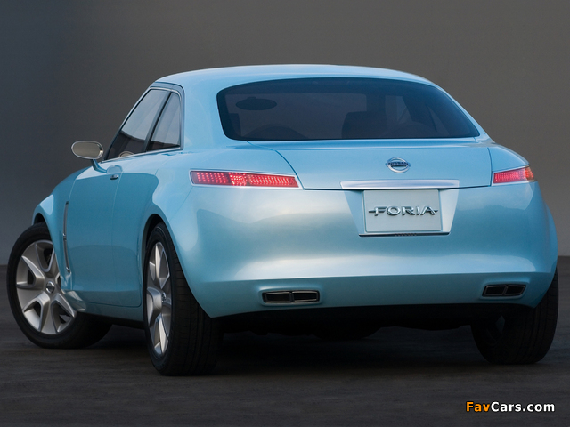 Pictures of Nissan Foria Concept 2005 (640 x 480)