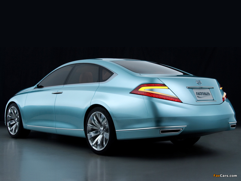 Pictures of Nissan Intima Concept 2007 (1024 x 768)