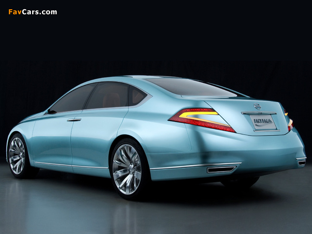 Pictures of Nissan Intima Concept 2007 (640 x 480)