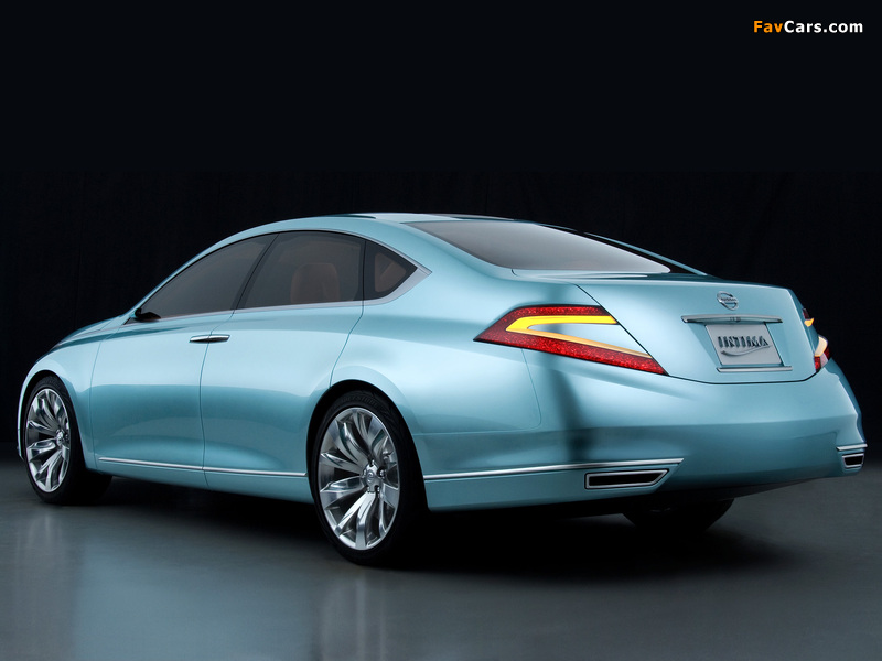 Pictures of Nissan Intima Concept 2007 (800 x 600)