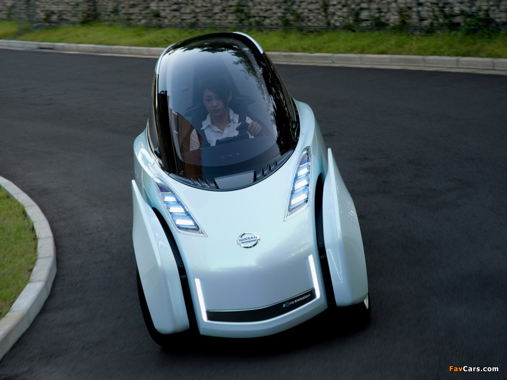 Pictures of Nissan Land Glider Concept 2009 (1024 x 768)