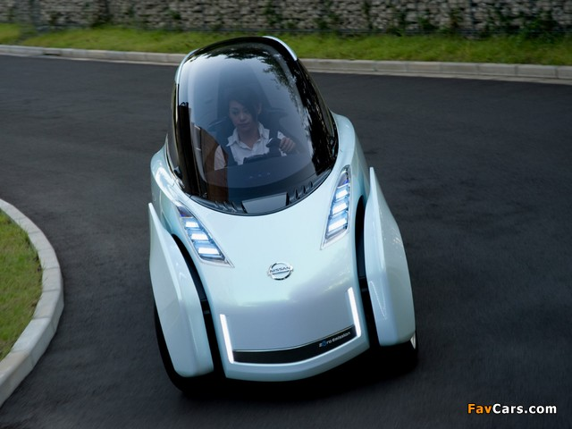 Pictures of Nissan Land Glider Concept 2009 (640 x 480)