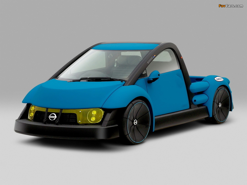 Nissan Nails Concept 2001 wallpapers (1024 x 768)