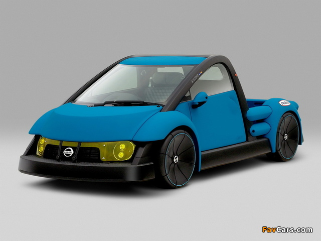 Nissan Nails Concept 2001 wallpapers (640 x 480)