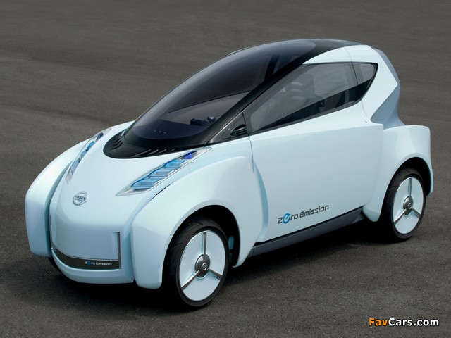 Nissan Land Glider Concept 2009 wallpapers (640 x 480)