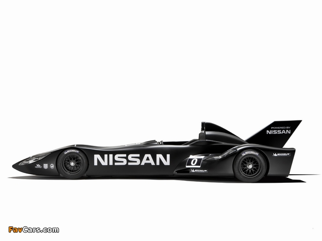 Nissan DeltaWing Experimental Race Car 2012 wallpapers (640 x 480)