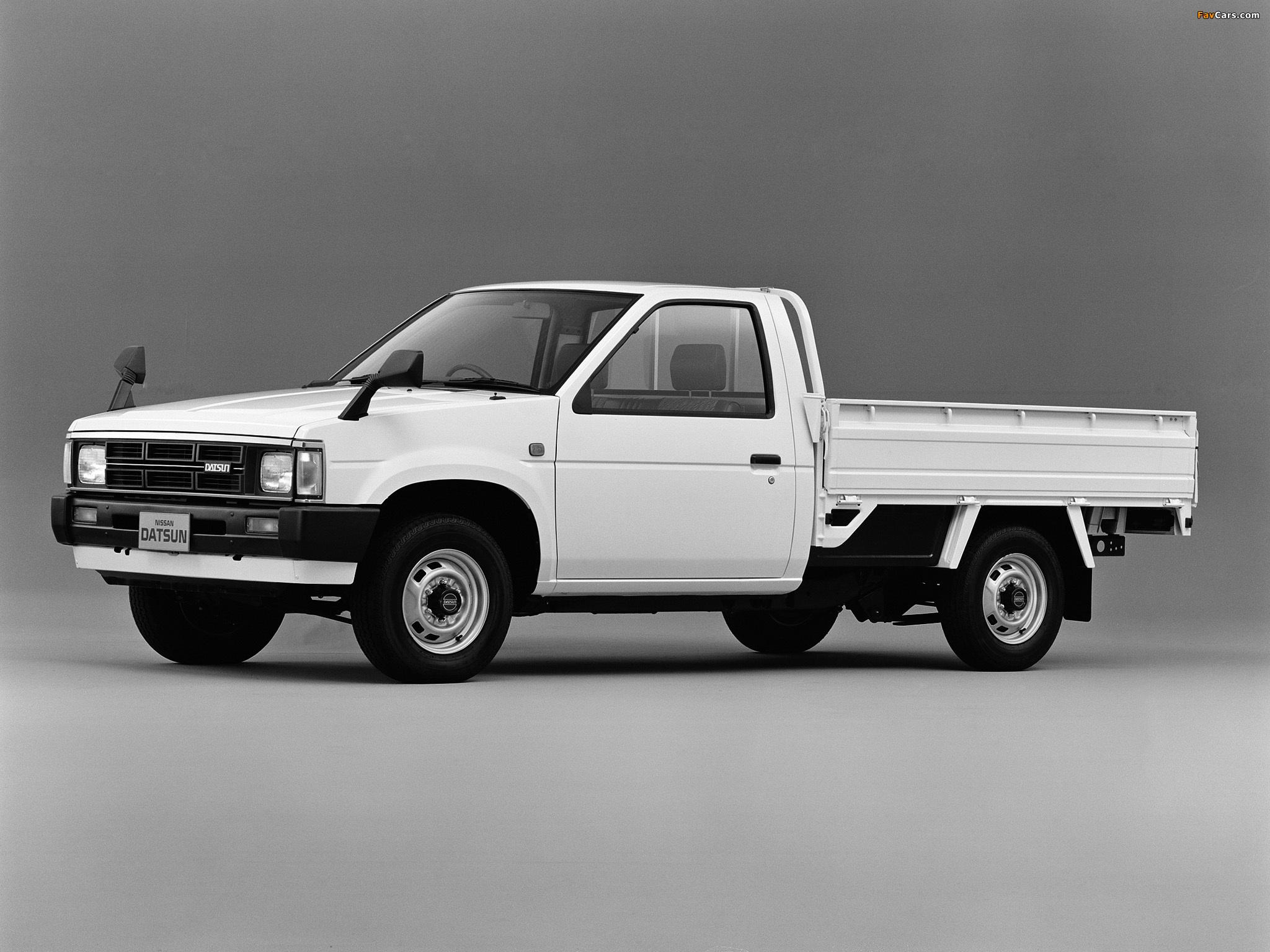 Images of Nissan Datsun Truck (D21) 1985–92 (2048 x 1536)