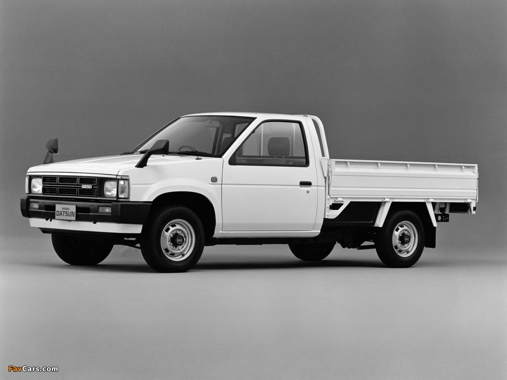 Images of Nissan Datsun Truck (D21) 1985–92 (1024 x 768)