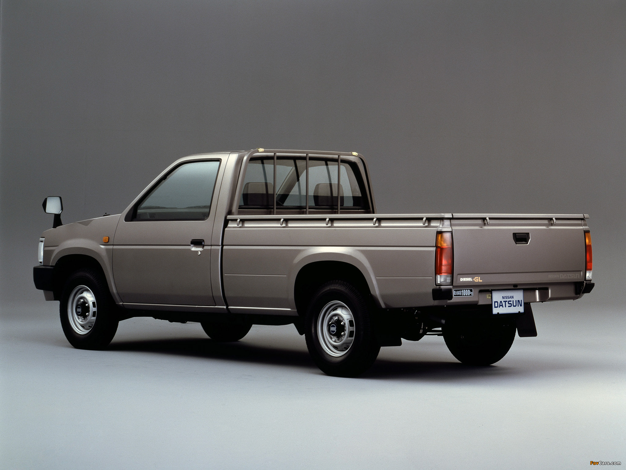 Images of Nissan Datsun Regular Cab (D21) 1985–92 (2048 x 1536)