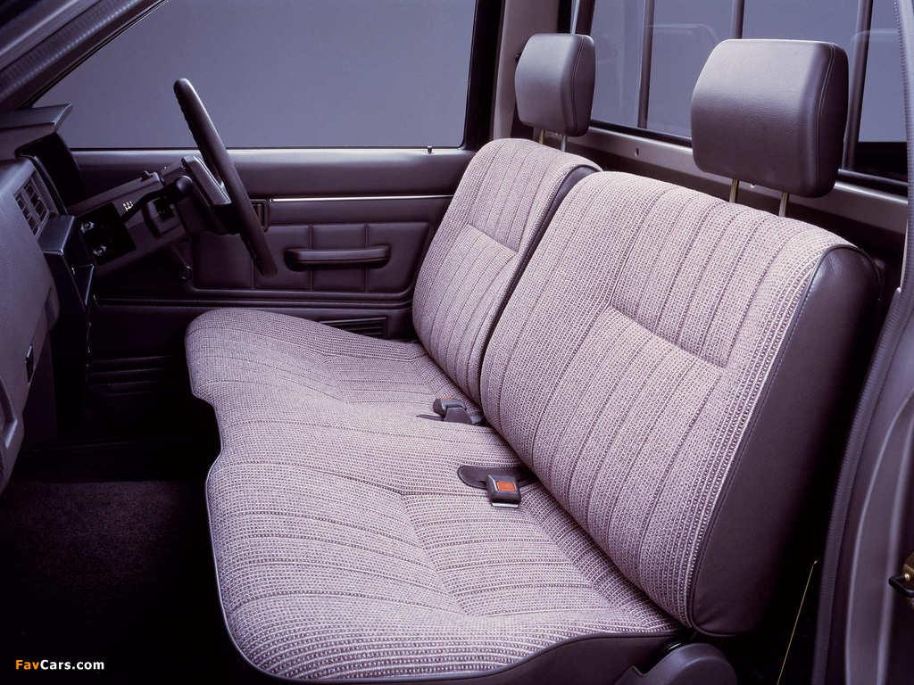 Nissan Datsun Regular Cab (D21) 1985–92 pictures (1024 x 768)