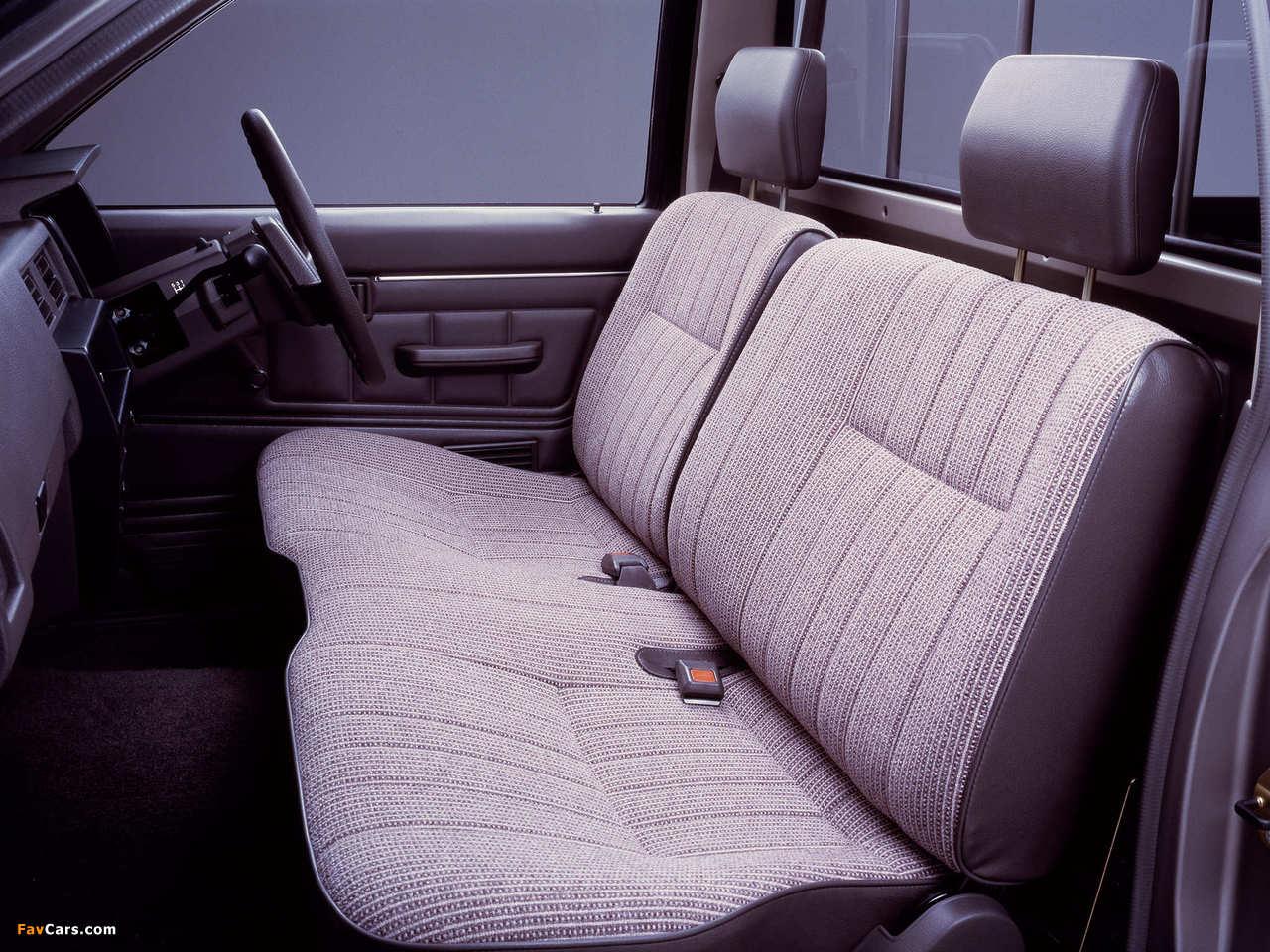 Nissan Datsun Regular Cab (D21) 1985–92 pictures (1280 x 960)