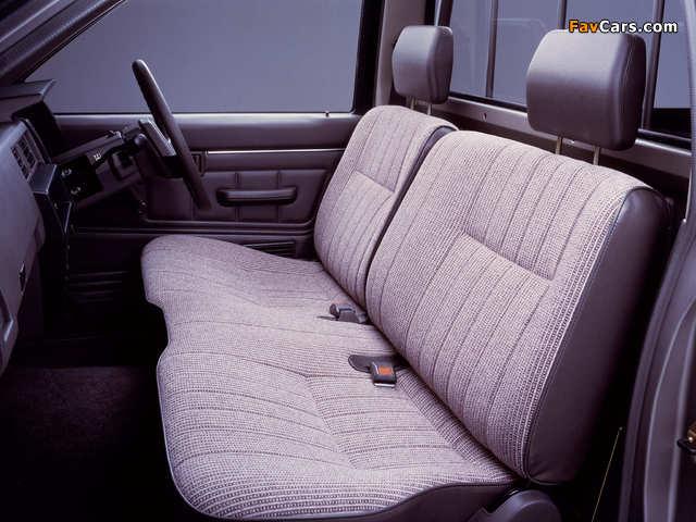 Nissan Datsun Regular Cab (D21) 1985–92 pictures (640 x 480)