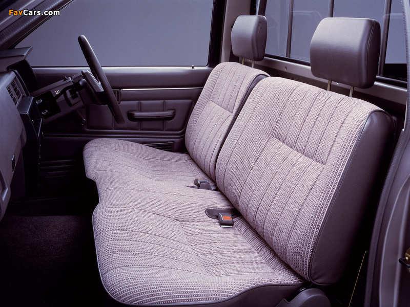 Nissan Datsun Regular Cab (D21) 1985–92 pictures (800 x 600)
