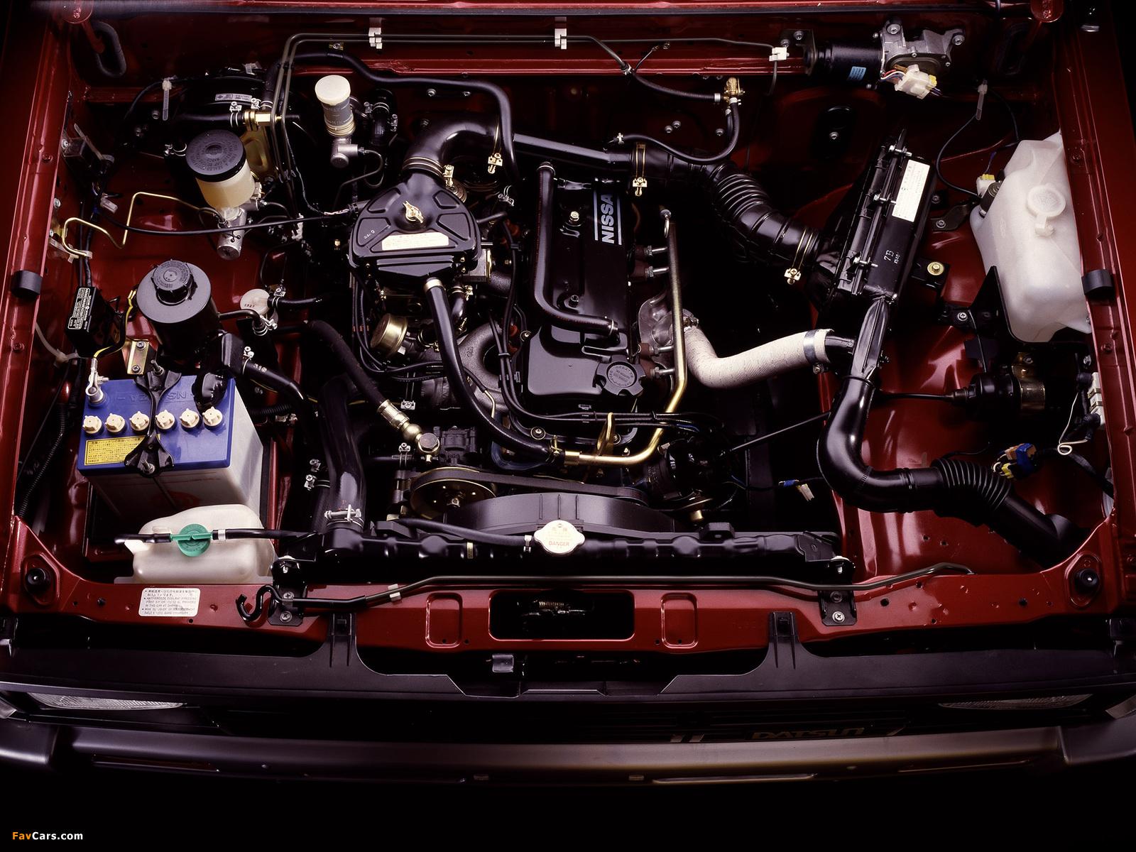 Photos of Nissan Datsun 4WD Double Cab (D21) 1985–89 (1600 x 1200)