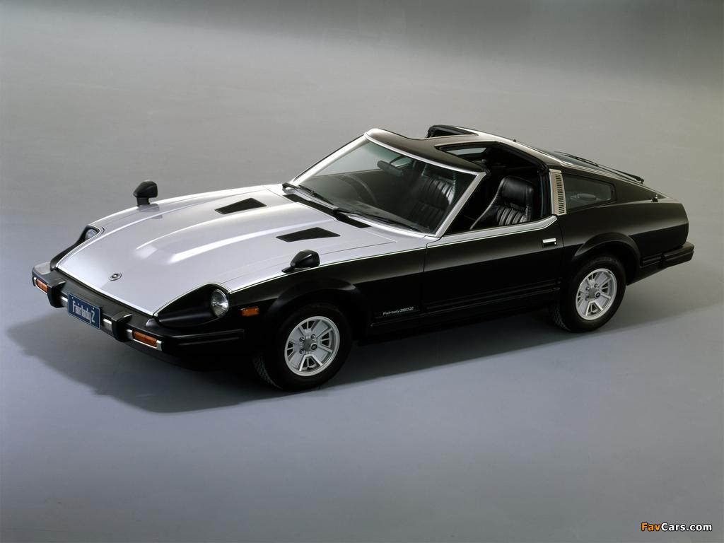 Images Of Nissan Fairlady 280z L T Roof Hs130 1980 83