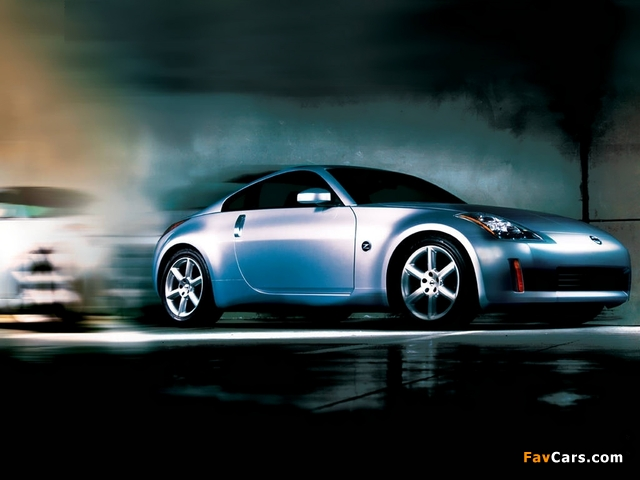 Pictures of Nissan Fairlady Z (Z33) 2002–07 (640 x 480)