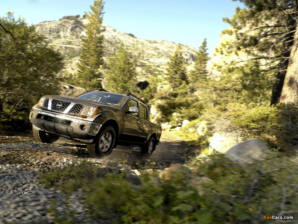 Nissan Frontier Crew Cab >> Images of Nismo Nissan Frontier Crew Cab (D40) 2005–08 (1024x768)