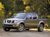 Nissan Frontier Crew Cab (D40) 2005–08 wallpapers