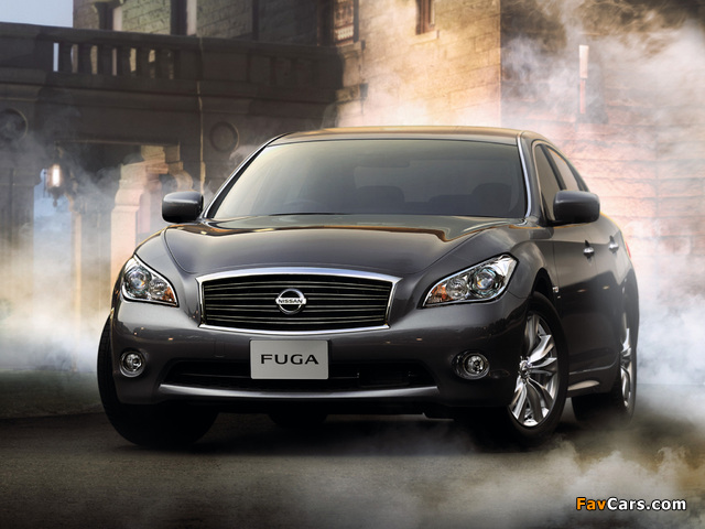 Images of Nissan Fuga (Y51) 2009 (640 x 480)