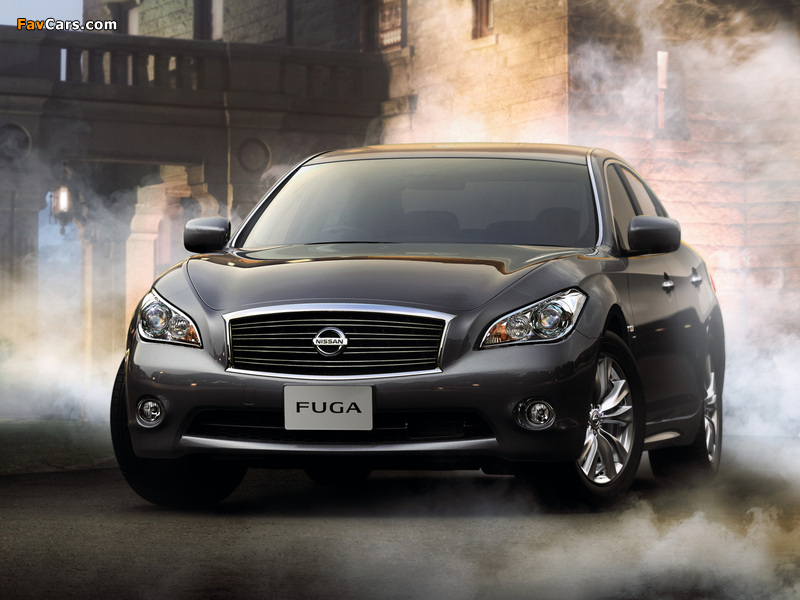 Images of Nissan Fuga (Y51) 2009 (800 x 600)