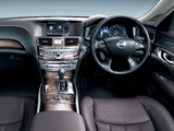 Nissan Fuga Hybrid (Y51) 2011 wallpapers