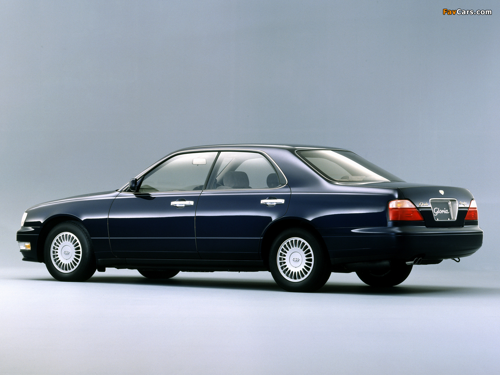 Images of Nissan Gloria Brougham (Y33) 1995–97 (1024 x 768)