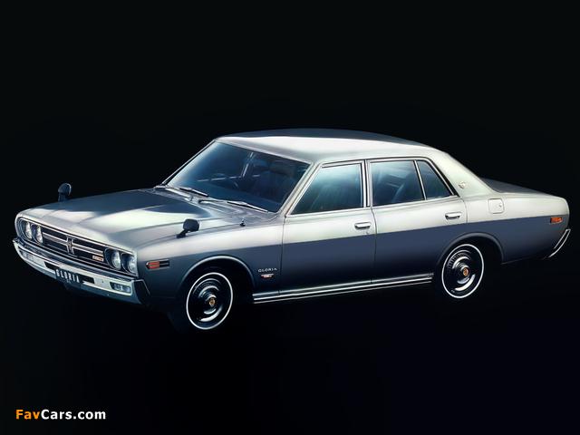 Nissan Gloria Sedan (230) 1971–75 pictures (640 x 480)