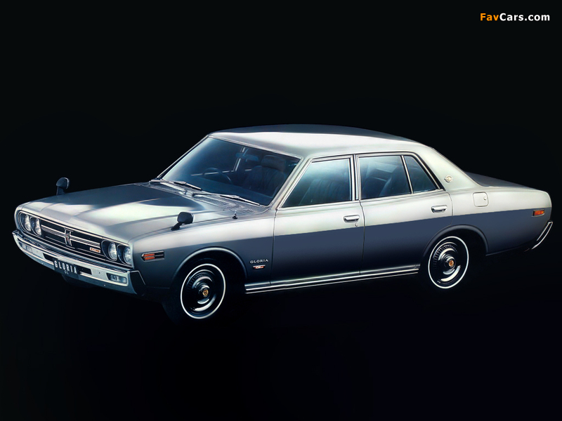 Nissan Gloria Sedan (230) 1971–75 pictures (800 x 600)