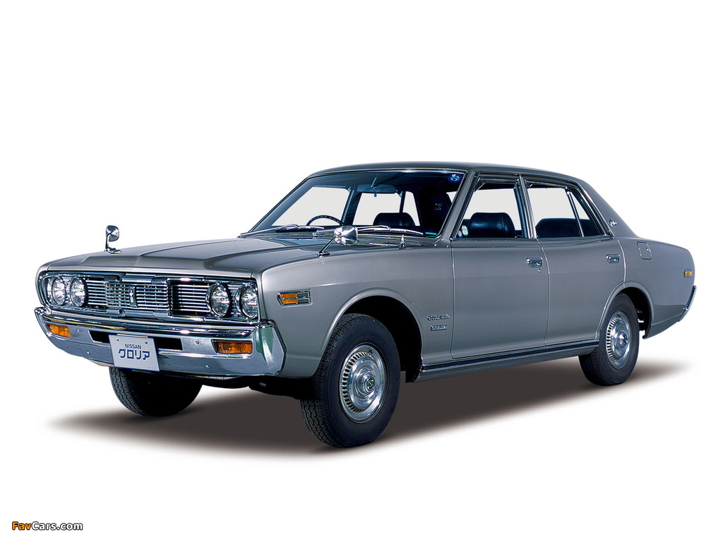 Nissan Gloria Sedan (230) 1971–75 wallpapers (1024 x 768)