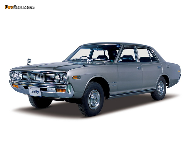 Nissan Gloria Sedan (230) 1971–75 wallpapers (640 x 480)
